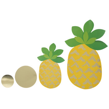 Pineapple & Dot Cutouts