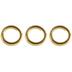 18K Gold Plated Split Rings - 6mm