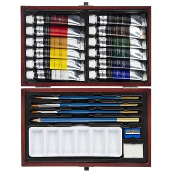 Oil Color Paint Set - 20 Pieces