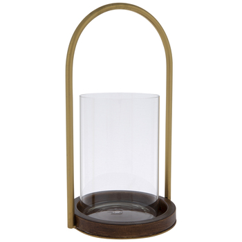 Arch & Hurricane Jar Metal Candle Holder