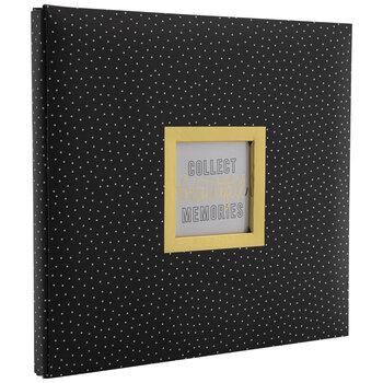 "Beautiful Memories Post Bound Scrapbook Album Kit - 12"" x 12"""