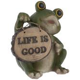 Life Is Good Frog
