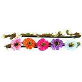 Braided Flower Headbands