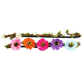 Braided Flower Headbands