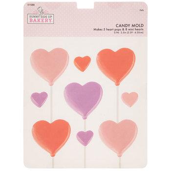 Heart Pop Candy Mold