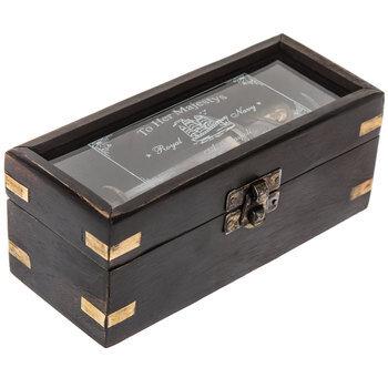 Brass Telescope With Wood Box