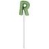 Letter Balloon Garden Pick - R