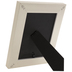 White With Gold Trim Frame - 5