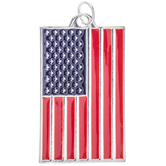Land Of The Free Flag Pendant