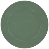 Light Green Plate Charger