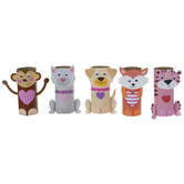 Paper Roll Characters Craft Kit