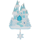 Ice Castle Personalized Ornament