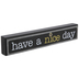 Have A Nice Day Sunflower Wood Decor