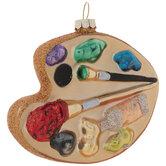 Paint Palette Ornament
