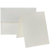 Ivory Horizontal Cards & Envelopes - A2