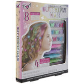 Color & Clip Butterfly Hair Kit
