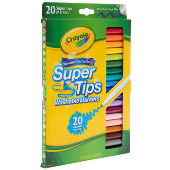 Crayola SuperTips Washable Markers