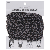 Brown Leopard Multi-Use Headwear