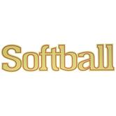Softball Wood Wall Decor