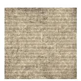 "Damask Sheet Music Scrapbook Paper - 12"" x 12"""