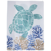 Watercolor Sea Turtle Kitchen Towel