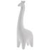 White Geometric Giraffe
