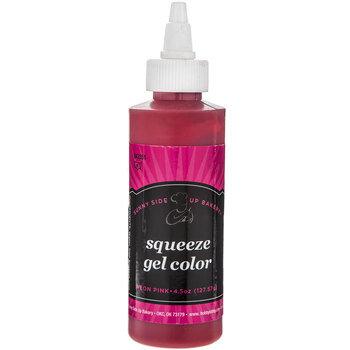 Neon Pink Squeeze Gel Color - 4.5 Ounce
