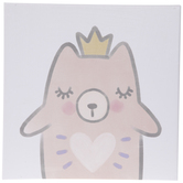 Fairy Bear Canvas Wall Decor