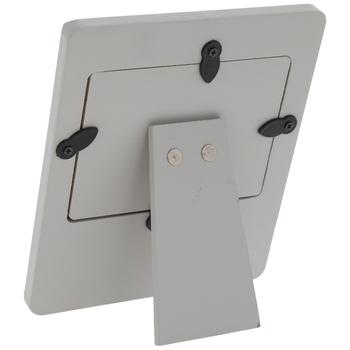 """Gray Polka Dot Sonogram Frame - 3 3/4"""" x 2 3/4"""""""