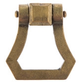 Gold Hinged Metal Pull