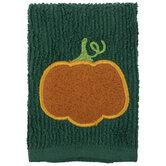 Green & Orange Pumpkin Scrubsy
