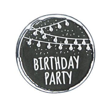 Birthday Party Lights Clear Stamp