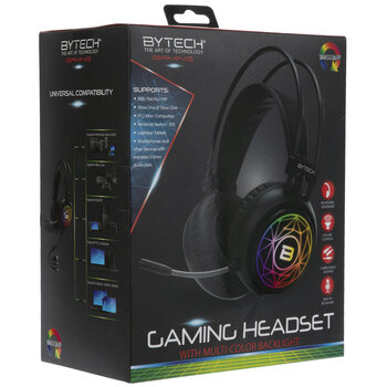 Multi-Color Backlight Gaming Headset