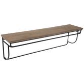 Simple Wood Wall Shelf