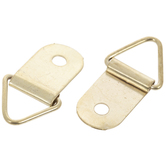 Brass Plated Triangular Hangers