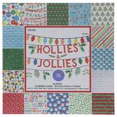 """Hollies & Jollies Paper Pack - 6"""" x 6"""""""
