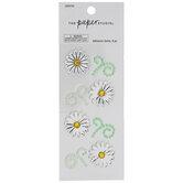 Daisies & Stems Rhinestone Stickers