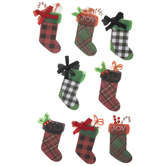 Christmas Stocking 3D Stickers