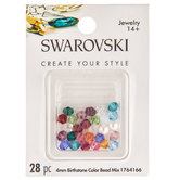 Birthstone Color Bead Mix