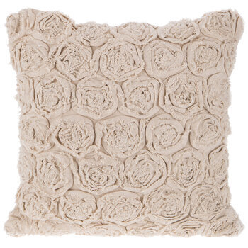 Roses Linen Pillow Cover
