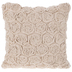 Beige Roses Linen Pillow Cover