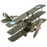 Green Sopwith Tri-Level Plane With Stars
