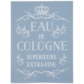 Eau De Cologne Adhesive Silkscreen Stencil