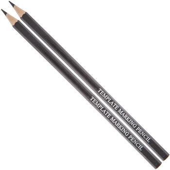 Black Template Marking Pencils - 2 Piece Set
