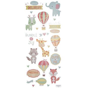 Hooray Baby Stickers