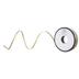 Gold Polka Dot Single-Face Satin Ribbon - 1/8