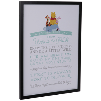 A Bother Free Day Wood Wall Decor