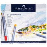 Faber-Castell Goldfaber Aqua Watercolor Pencils - 24 Piece Set