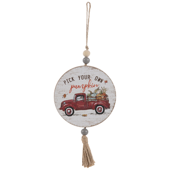 Pick Your Own Pumpkin Tassel Ornament