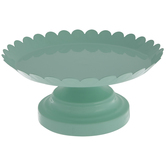 Scalloped Cake Stand